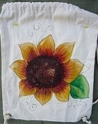 #5079 Sunflower Tote Bag