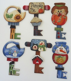 #6004 Autumn & Winter Ornaments
