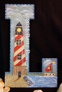 #7047 L for Lighthouse