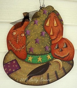 #7056 Halloween Fancy Hat