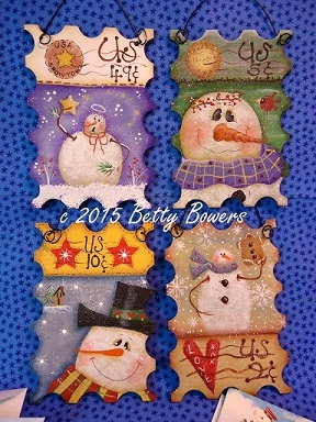 #7061 Winter Stamp Ornaments