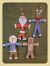 #8030 Skinny Ornaments