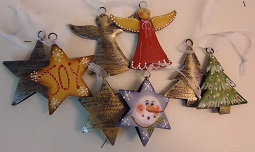 #8041 Metal Ornaments Kit