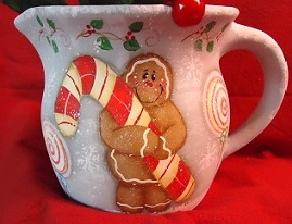 #8097 Ginger & Peppermint Pitcher