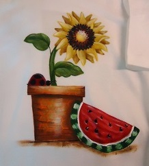 #8123 Summer time T shirt