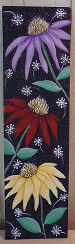 #8125 Cone flowers