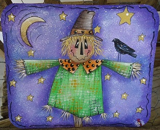 #8155 Scarecrow Mouse Pad