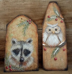 #8173 Woodland Ornaments