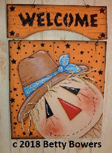 #8211 Welcome Scarecrow