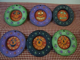#5070 Mini Pumpkin Plates