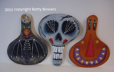 #6005 BOO Crew Ornaments