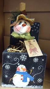 #ep5069  Snowman Jack in a Box