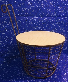 Basket with one handle 6""