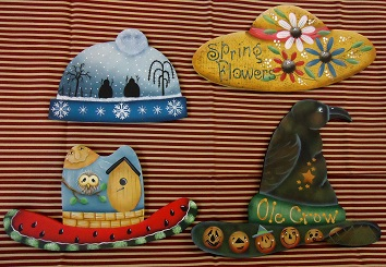 Wood 6062 Seasonal Hats