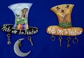 Hats Off To Painting Pin Kit