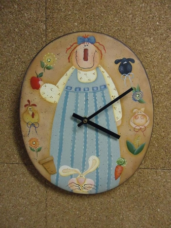 #3090 Country Clock Oval