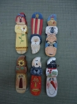 #4000 Six Whimsical Paint Bottle openers