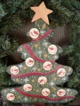 #0039-Snowman Christmas Tree - Pattern Packet