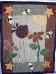 #0034-The Bird & Bees - Fabric Pattern Packet