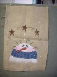 #3040 Snowman Sack-Stocking Pattern