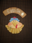 #ep3080 Eggs 5 cent Mini Hanger