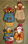 #0041-4 Mitten Ornaments - Pattern Packet