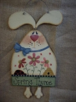 #3060 Spring Thyme Bunny Pattern