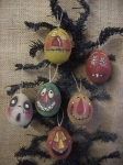 #2092 Scary Eggs-pattern packet