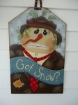 #4032 Got Snow? Hobo Snowman