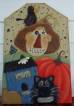 #4034 Crow Inn Hobo Scarecrow