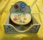#4022 Wild Flowers Napkin Holder