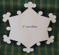 3in Snowflake