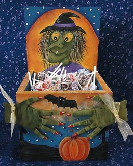 #6058 Witchy Poo Candy Box